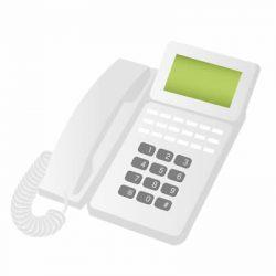 着信音が大きな電話機(難聴者・高齢者向け)を設置した事例