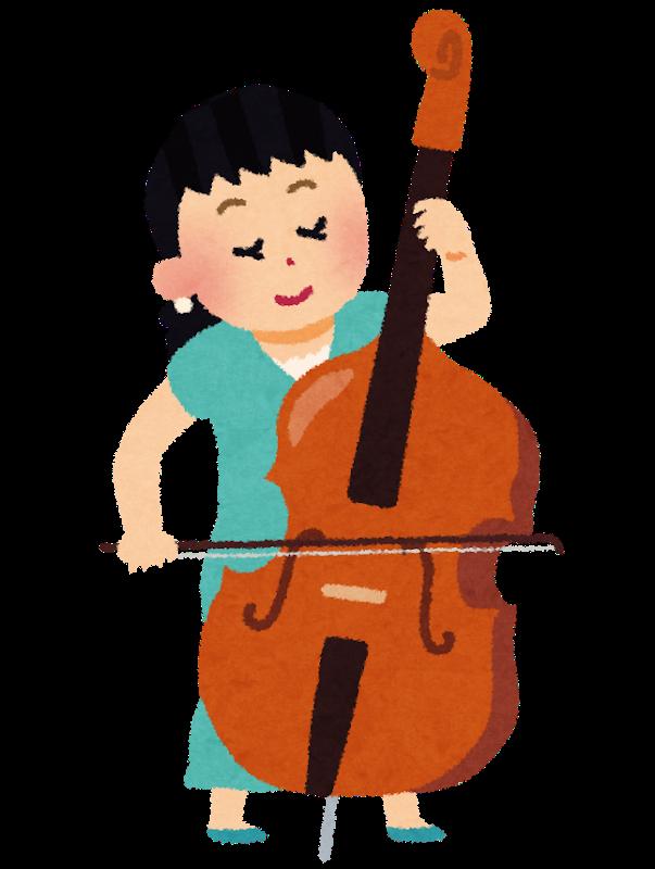 バイオリン演奏する女性