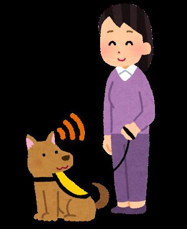 聴導犬と出かける