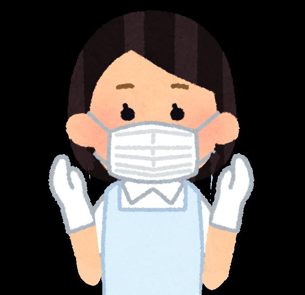 医療用手袋、マスク、医療従事者